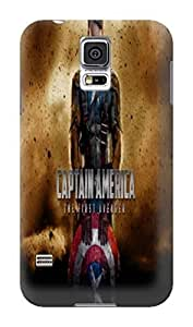Building texture designed tpu skin back cover for Samsung Galaxy s5 of Avengers Captain America in Fashion E-Mall