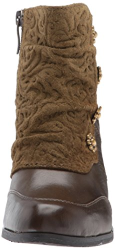 L'Artiste Step Women's by Spring Ankle Belgard Olive Bootie Green tSEtrqwxAn