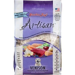 Grandma Lucys Grain-Free Venison Dry Dog Food 3lb, My Pet Supplies
