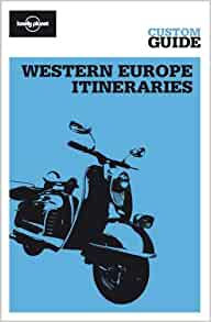 western europe travel guide lonely planet