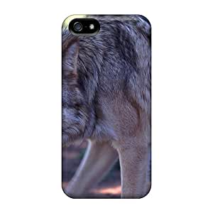 Case Cover Wolf Prawling/ Fashionable Case For Iphone 5/5s