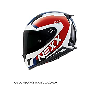 Nexx casco XR2 Trion, color blanco/azul, ...