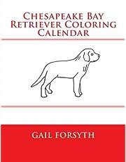 Chesapeake Bay Retriever Coloring Calendar