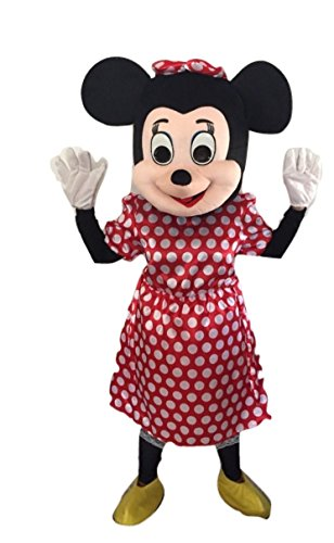 Mascot Costume Character Adult Size for Christmas Halloween (B) (Disfraz De Halloween De Minnie Mouse)