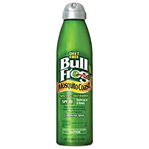Bull Frog Mosquito Coast Spray Sunscreen with Insect Repellent, 6 Ounce