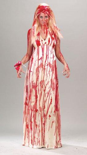 Adult Prom Nightmare 80s Horror Film Costume