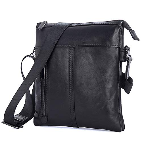 Casual Hommes M Size color À Black Sacs Pour Bags Business Bandoulière Black IqFqgwf