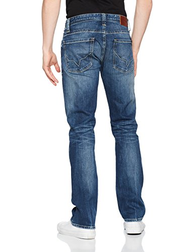 Pepe Jeans Herren Jeans Kingston Zip Pm Blau (Denim), W31 (Herstellergröße: 31)