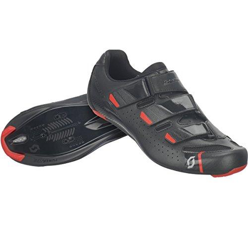 Scott Road Comp per bici da corsa scarpe Nero/Rosso 2018
