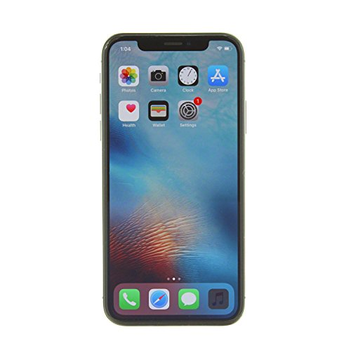 Apple iPhone X, GSM Unlocked, 64GB – Space Gray (Renewed)