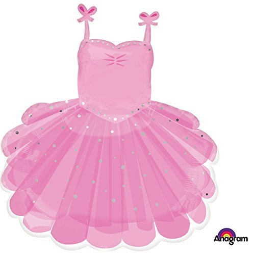 Amscan International 3514101 Ballerina Tutu Foil Balloon
