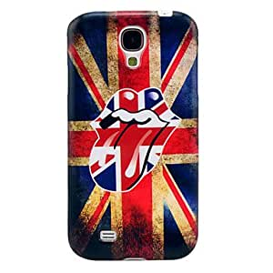 LIMME-UK Flag Tongue Soft TPU Case for Samsung Galaxy S4 I9500