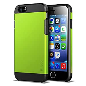 iPhone 6 Case, Slicoo Dual-layer Protective Carrying Cover Case for iPhone 6 4.7 (Green)