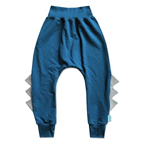 theminiclassy-baby-dino-harem-stellar-blue-with-fog-6-12mos-grey