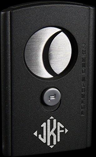 Porsche Design Bavaria Cigar Cutter With Free Diamond Monogram Engraving (Grey) by Visol