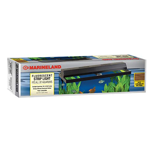- Perfecto Manufacturing APF26202 Marineland Fluorescent Perfect-a-Strip Light Reflector for Aquarium, 20-Inch, Black