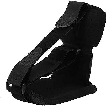 Soporte ortopédico para la caída del pie, correa de tracción para la ortesis del pie transpirable Ajuste para hombres y mujeres Herramienta para el cuidado de los pies(L)