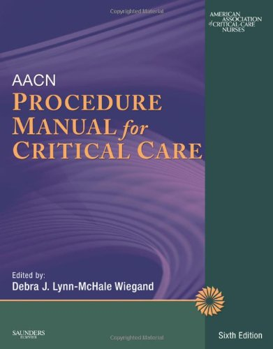 AACN Procedure Manual For Critical Care, 6e