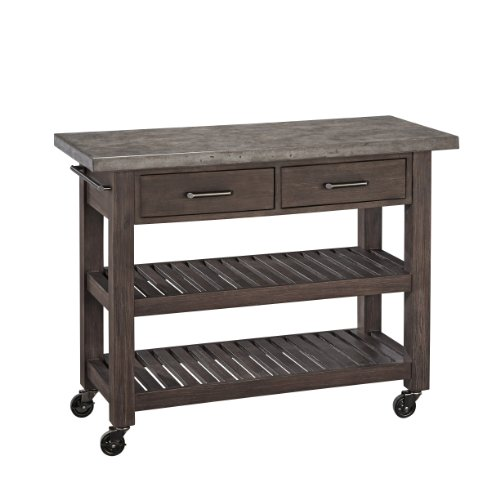 Concrete Chic Kitchen Cart by Home Styles