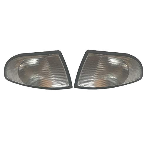 1 Pair Front Indicator For A4 B5 S4 Front Corner Turn signal light lamp 1994-1998: