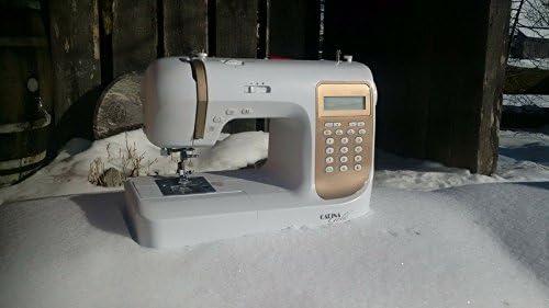 De la máquina de coser electrónica profesional Premium Gold ...