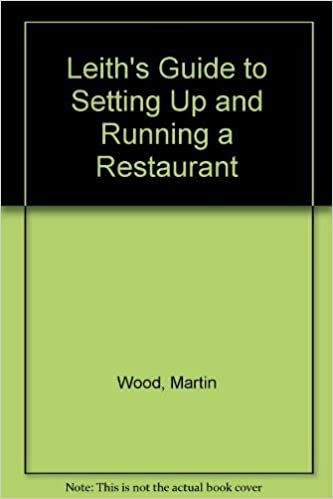 Book's Cover of Leith's Guide to Setting Up and Running a Restaurant (Anglais) Relié – 4 octobre 1990
