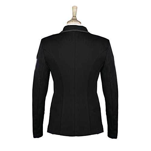 Mujer de elástica Cadence Americana para Caldene Modelo Negro para competiciones equitación zqSwgxEC