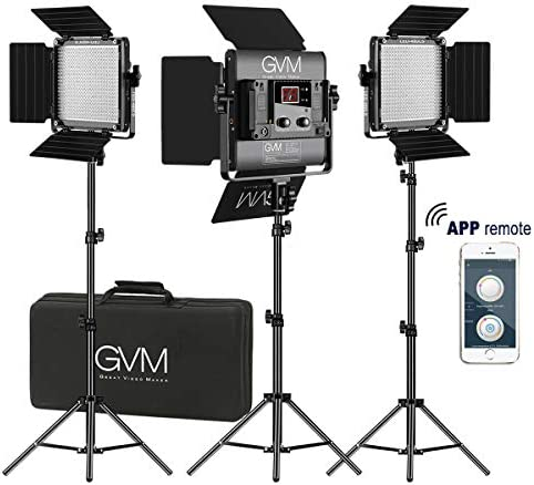 GVM Video 2300K 6800K Brightness Photography product image