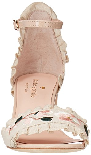 Pink Sandal Wayne Spade Sand Linen Kate Women's Heeled xwHBcXq