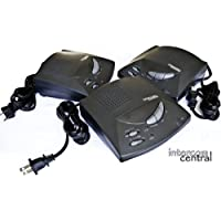 Intercom Central 2PICB166 TRADITIONAL 2 prongs Power-line HOME Intercom System for 110 Volts only