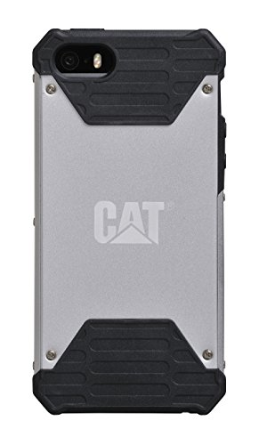 71e10814f2f8a8 Caterpillar Active Signature Case for iPhone 5/5s - Silver - Import ...