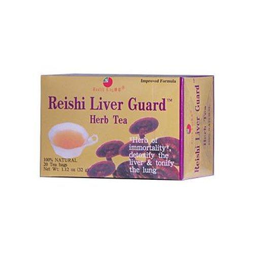 Health King Reishi Liver Guard Herb Tea -- 20 Tea Bags by Health King (Reishi Liver Guard Herb Tea)