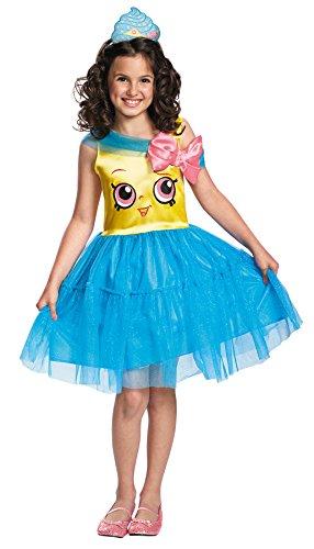 UHC Girl's Cupcake Queen Shopkins Moose Toys Dress Child Halloween Costume, Child M (Newborn Cupcake Costumes)