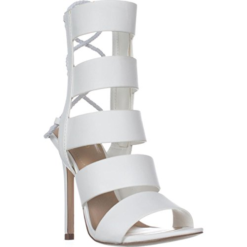 Aldo Womens Hawaï Open Teen Casual Strappy Sandalen, Wit, Maat 10.0
