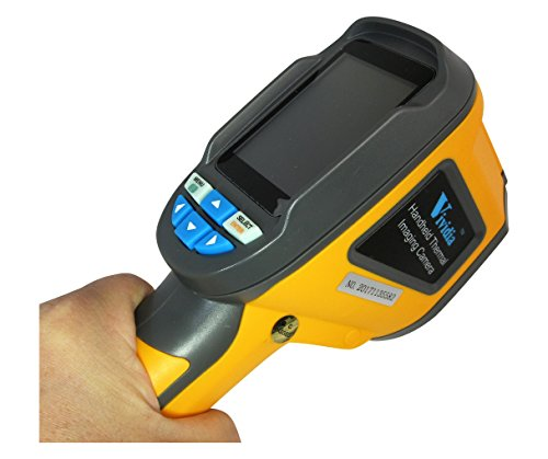Vividia TH-3 Portable Handheld Infrared Thermal Imaging Inspection Camera with 60x60 Thermal Resolution and Mini SD Storage and 2.4