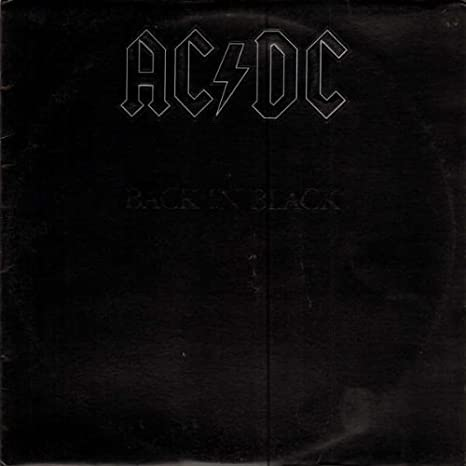 AC/DC - Back In Black - Atlantic - ATL 50 735, Atlantic - ST-A-804517, Atlantic - SD 16018: AC/DC: Amazon.es: Música