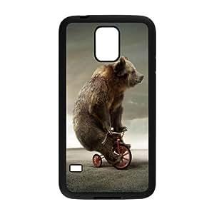 Stylish Circus Design Plastic Case for Samsung Galaxy S5