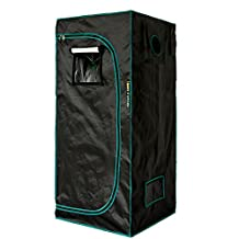 MarsHydro 2' 3'' x2' 3'' x5' 3'' Reflective Mylar Hydroponic Grow Tent for Indoor Plant Growing