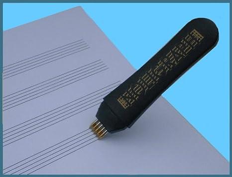 NOLIGRAPH ORDENADOR LíNEAS JUEGO DE BOLíGRAFO (MINA INTERCAMBIABLE.) 2416: Amazon.es: Instrumentos musicales