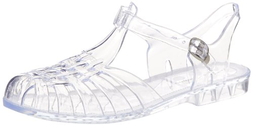 n's Feliz Jelly Sandal, Clear, 9 M US ()