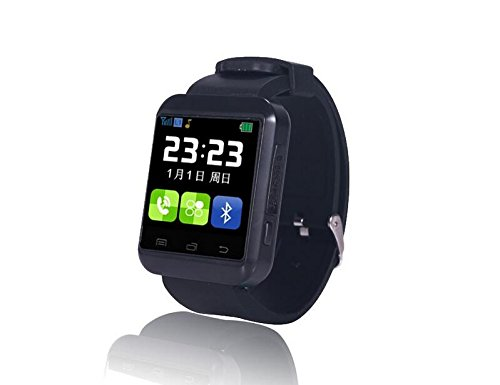 Bluetooth Smart Watch U8 Plus carte SIM GSM Sport Montre-bracelet téléphone anti-perte écran tactile Smartwatch pour iOS Android: Amazon.fr: High-tech
