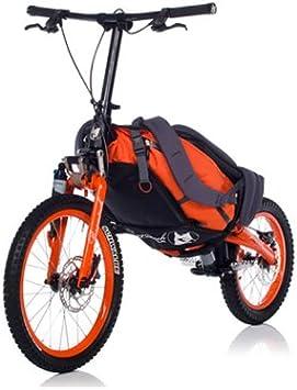 Koga - Bicicleta plegable con mochila de transporte: Amazon.es: Deportes y aire libre