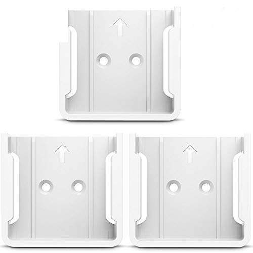 HOLACA Quick Wall Mount Bracket for Wyze Cam 1080p HD Camera and iSmart Alarm Spot Camera (3 Pack, White)