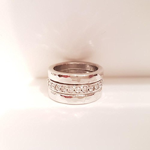 Bague Maria Cristina Sterling Luxury Stone G1737Argent