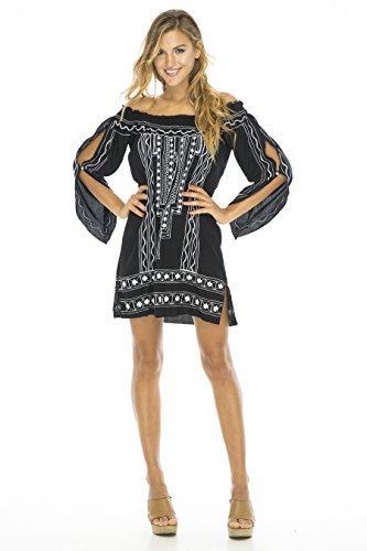 Buy belted drape dress - 4