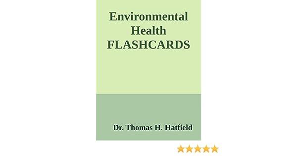 Environmental Health Flashcards - Kindle edition by Dr. Thomas ...