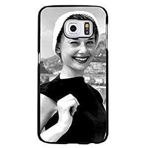 Audrey Hepburn mobile cover case for Samsung Galaxy S6 Edge Plus Exquisite Funny Style