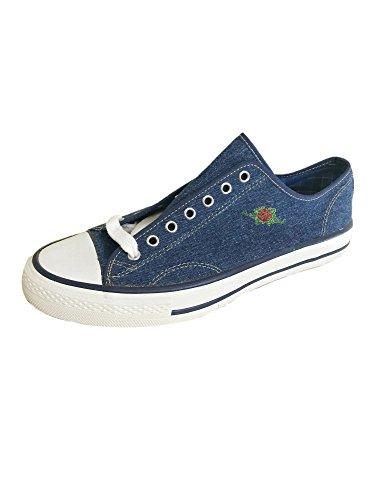 El 43 Sneakers Charro Blue Denim Vintage Z4qZwURr