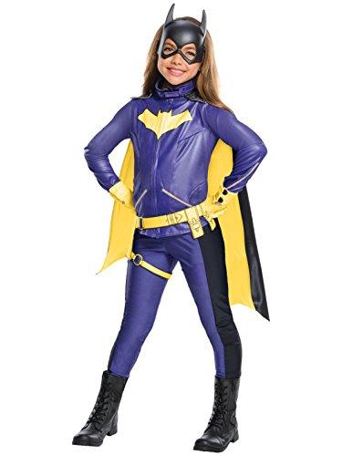 - 41bsheASfmL - Rubie's Costume Girls DC Comics Premium Batgirl Costume