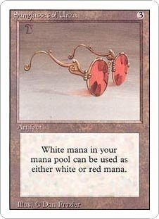 Sunglasses of Urza (Magic the Gathering : Revised - Urza Sunglasses Of
